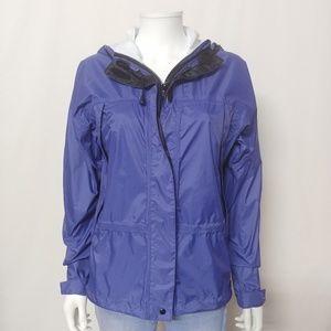 L.L. Bean Women's Size Small Rain Jacket Purple